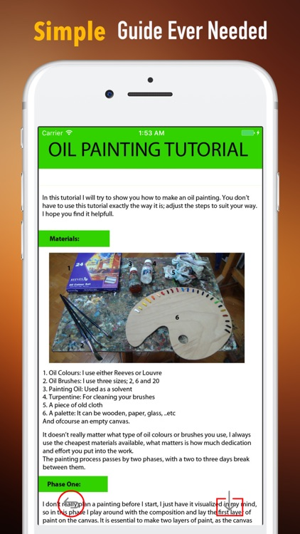 Oil Painting 101 - Beginner Tutorial and Draw Tips screenshot-1