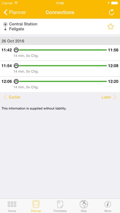 Tyne and Wear Metro App for Windows