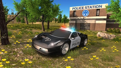 Police Car driving Offroad 4x4 App 截图