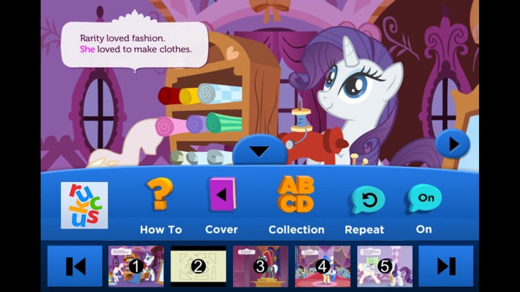 My Little Pony: Rarity Loves Fashion