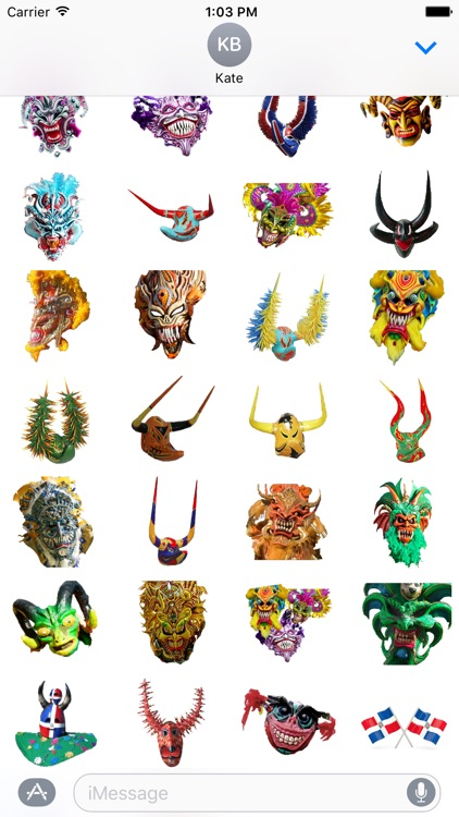 Dominican Carnival Masks