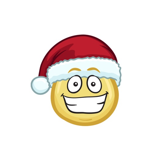 merry christmas emojis christmas stickers app logo
