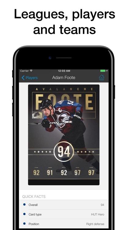 Pocket Wiki for NHL 17