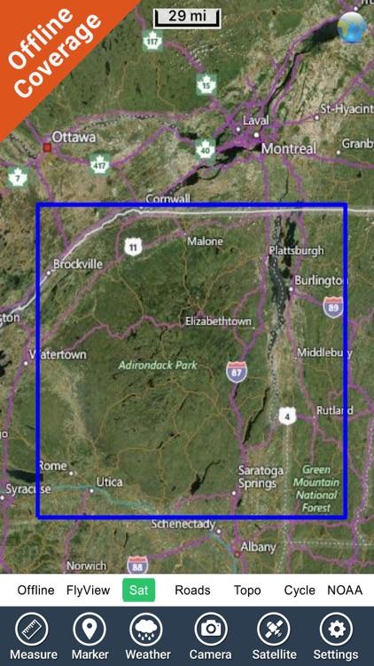 Adirondack State Park - GPS Map Navigator screenshot-4