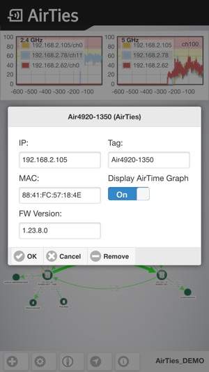 AirTies Network Visualizer on the App Store