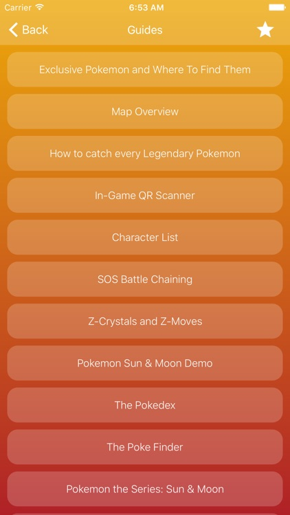 Guide for Pokémon Sun and Moon