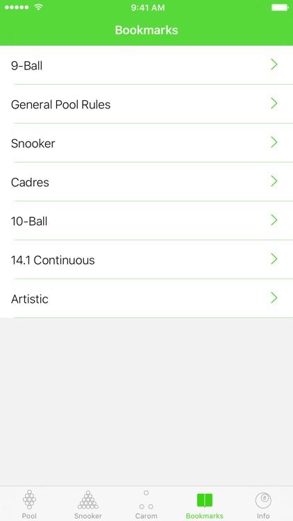 Billiard Rules screenshot-3