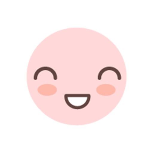 kawaii emoji stickers pack