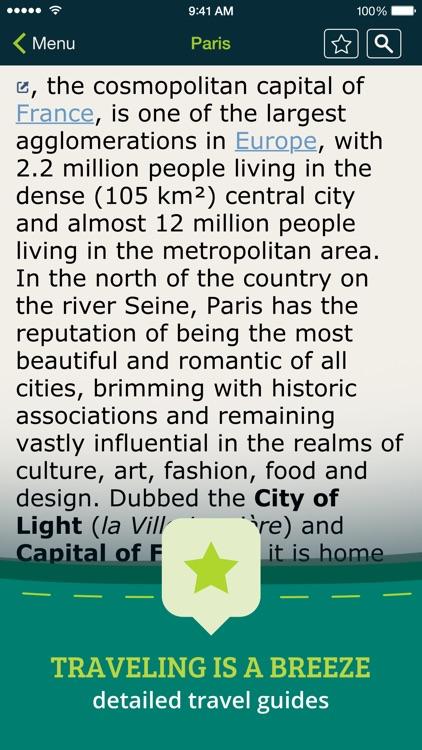 Pocket Earth PRO Offline Maps & Travel Guides screenshot-4