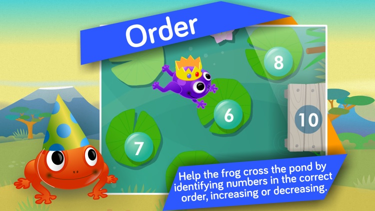 Kids Number, Addition & Subtraction Math Ed Games