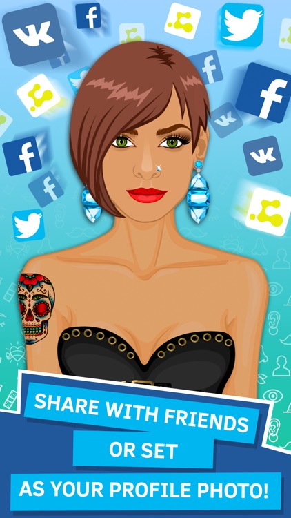 Avatar Creator App. Make your own Avatar. PRO