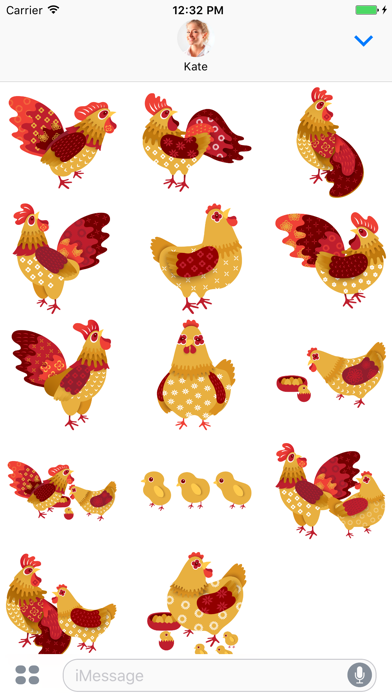 Cockerel - Stickers for iMessage