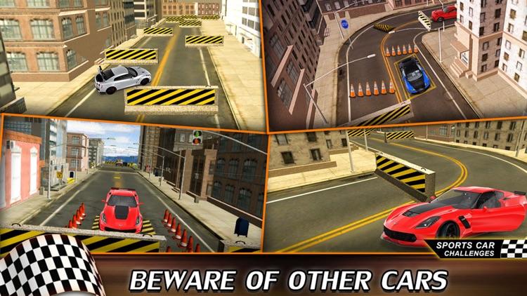 Drag Racing Speed Car 3D: Street CRS Park Bentely screenshot-4