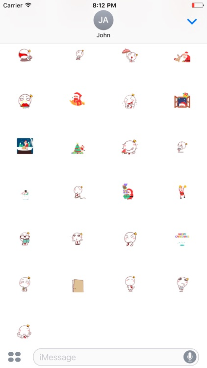 Christmas Best Wishes - Animated Stickers screenshot-3