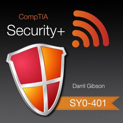 CompTIA Security+ SY0-401 Exam Prep app logo