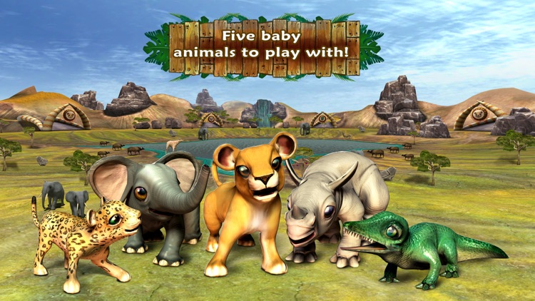 Safari Tales - literacy skills from creative play screenshot-0