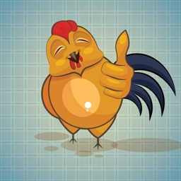 Sticker Me: Funny Chicken
