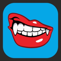 Vampire teeth Stickers - Pack for iMessage
