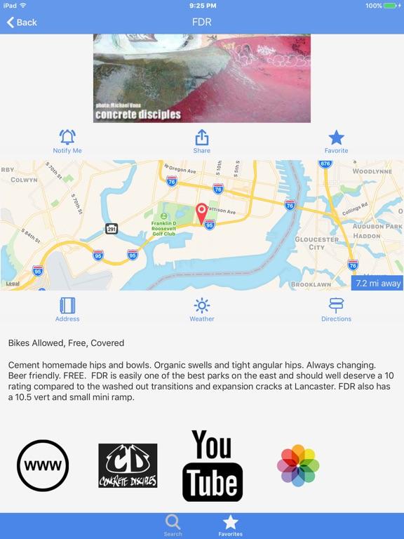 Ramp map world skatepark map app price drops screenshot 2 for ramp map world skatepark map gumiabroncs Gallery