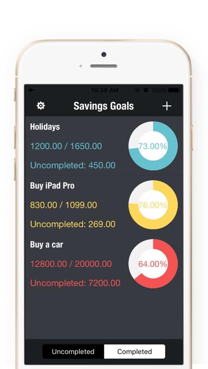 Daily Savings Goals - Savings Goals Plan,Money Box