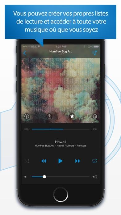 de la musique sur iphone avec dilandau
