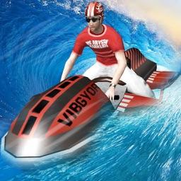 MidTown Wave Riders - Free 3D Jet Ski Racing Game