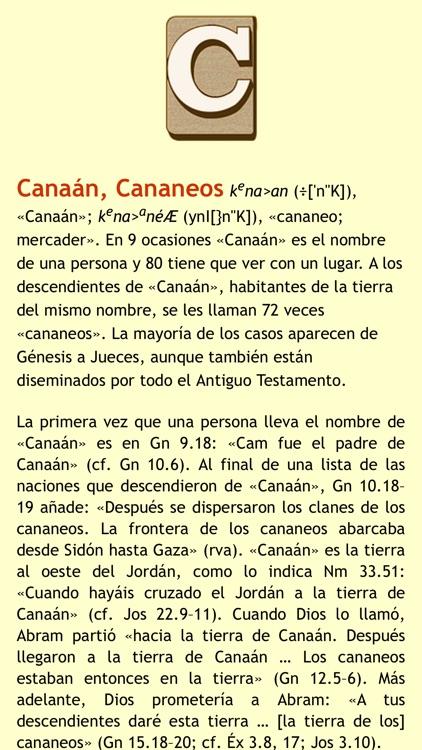 Diccionario Hebreo Biblico screenshot-3