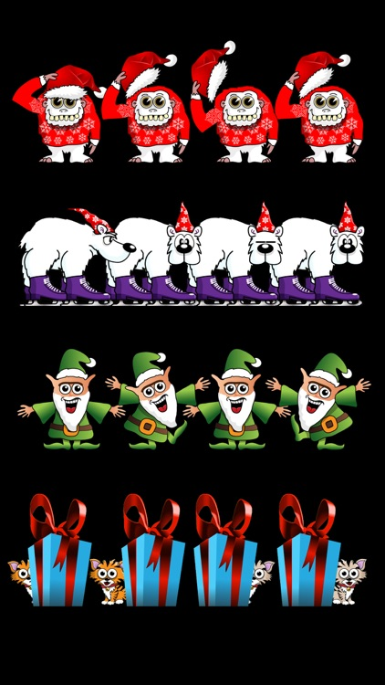 Crazy Animated Festive Stickers screenshot-4