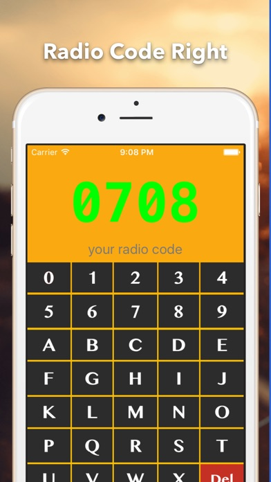 Radio Code for Renault screenshot two