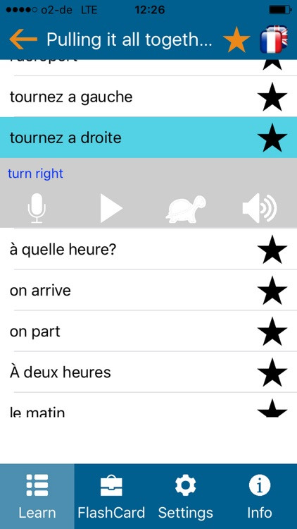 Learn french - phrasebook for Travel in france 2
