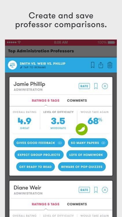 Rate My Professors – Find the Right Professor screenshot-3