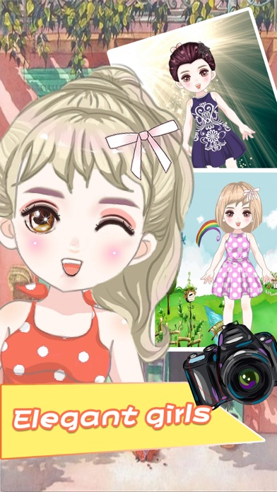 Dressup Beauty Girls - Dress up game for kids