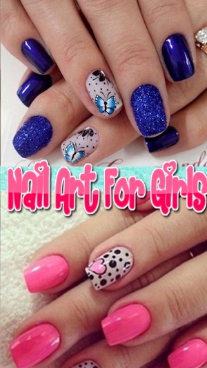 Nail Art For Girls Free Salon For Princess Nail Art Designs