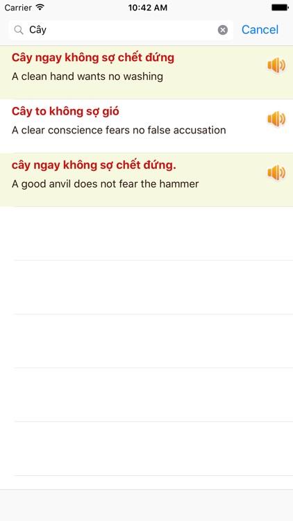 Học Tiếng Anh Giao Tiếp qua 123 Ca Dao - Tục Ngữ screenshot-4