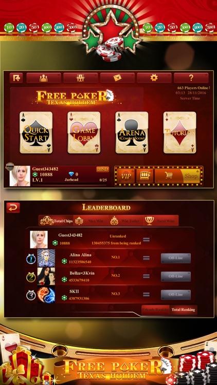 Poker-Texas-Holdem screenshot-4