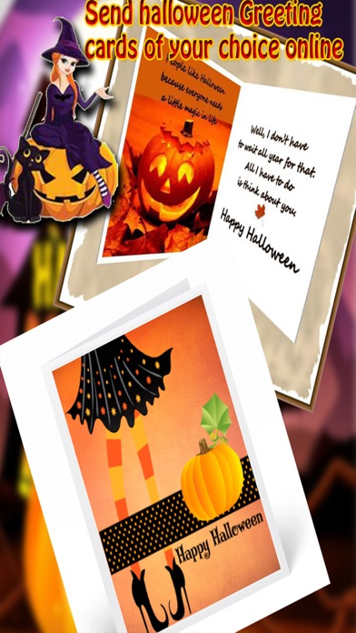 Free happy halloween day cards greetings wishes app price drops screenshot 4 for free happy halloween day cards greetings wishes m4hsunfo