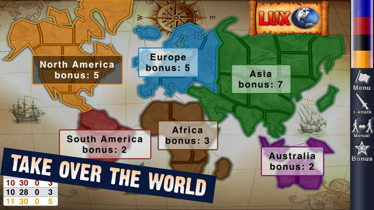 Lux Touch 3 - World Domination