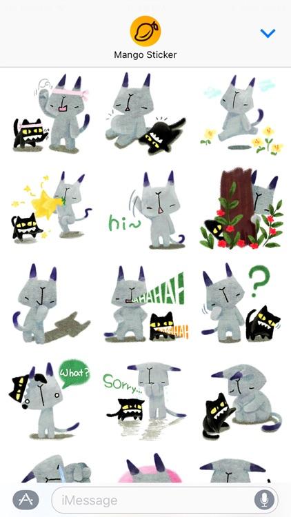 Day by day of Sirasoni - Mango Sticker