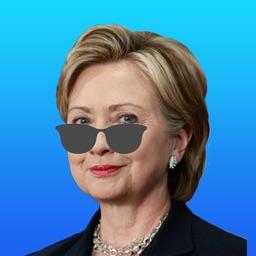 Hillary Clinton Emoji Sticker Pack