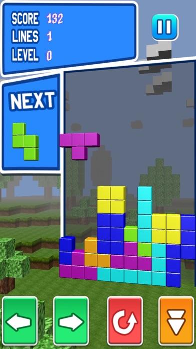 ブロッククラッシュ-無料マインクラフトパズルゲームのスクリーンショット1