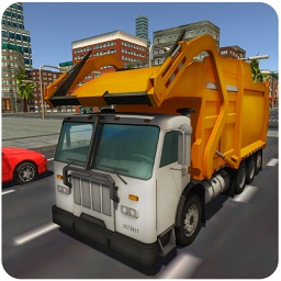 Garbage Truck SIM 3D – Trash Trucker Parking Simulation Game