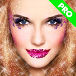 Glitter Makeup Camera Pro - Glamour Makeup Effect