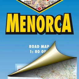 Menorca. Road map.
