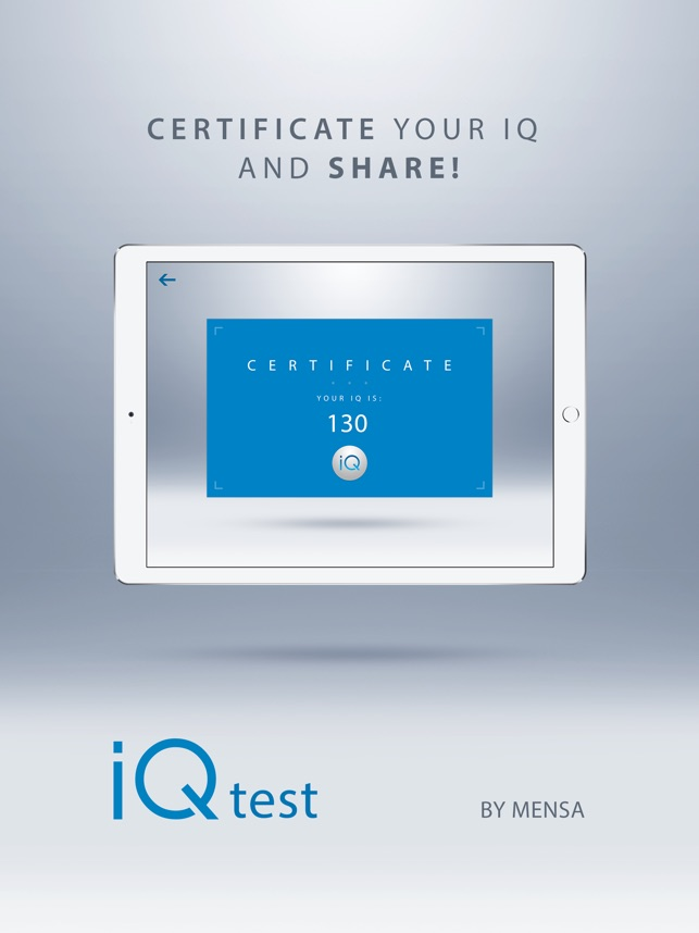 IQ Test - With Solutions Screenshot