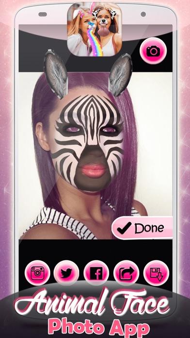 動物の顔フォトモンタージュ:写真加工アプリと面白いステッカーカメラ紹介画像5