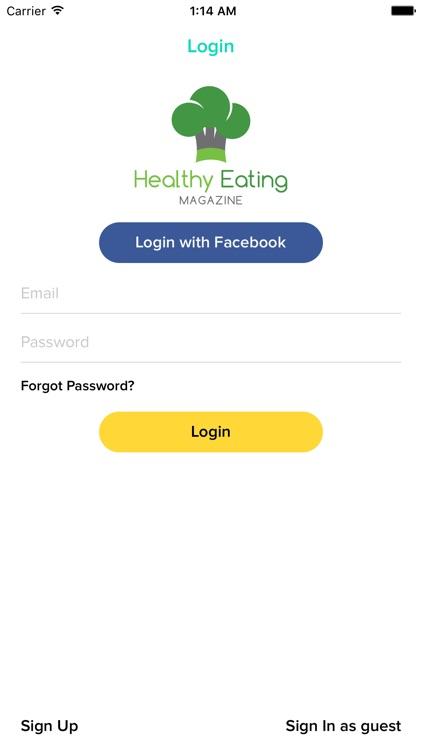 Healthy Eating Magazine screenshot-3