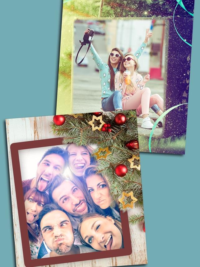 Erstellen Weihnachtsporträt im App Store