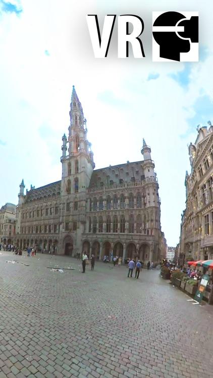 VR Brussels City Walk - Virtual Reality 360 screenshot-4
