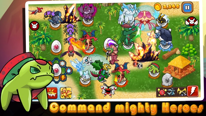 Cutie Monsters Tower Defense-Cute Monster Stickers Screenshot