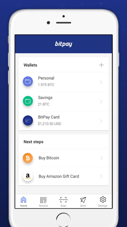 BitPay – Secure Bitcoin Wallet screenshot-4